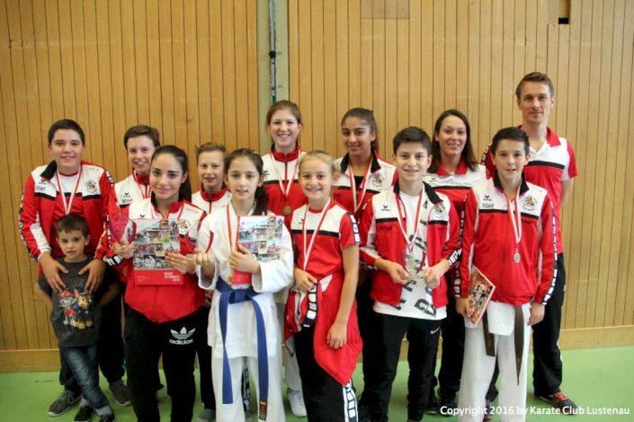 KC Lustenau Nachwuchsmeisterschaft in Lauterach