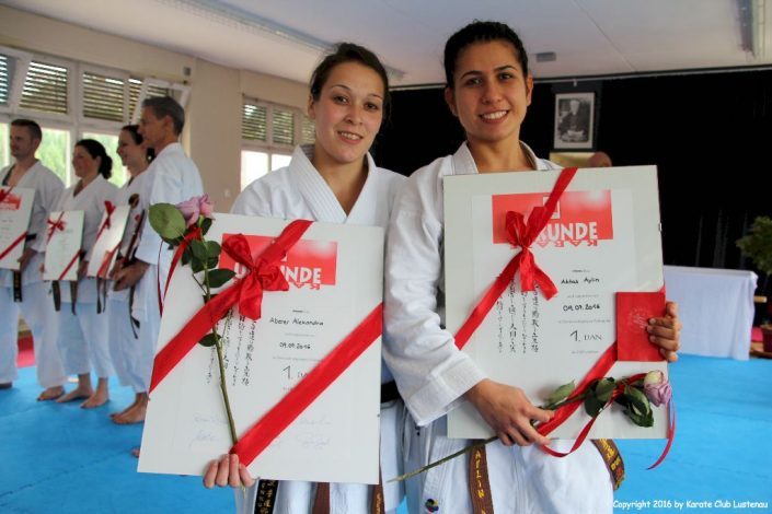 KC Lustenau Prüfung Alex und Aylin in Höchst