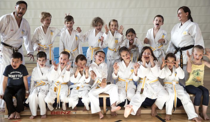 Karate Hofsteig Mini Kids