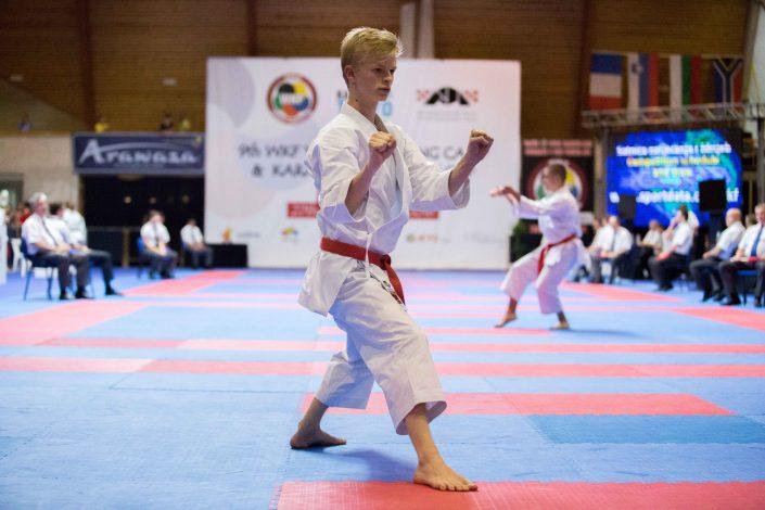 Karate Hofsteig WKF YWC Umag