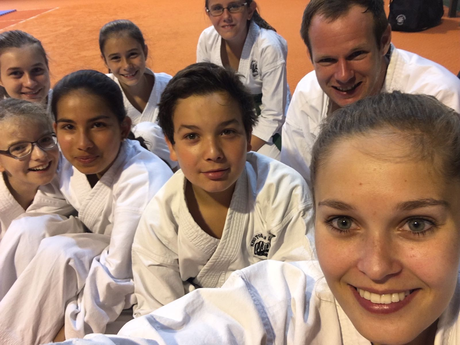 Shotokan Karate Club Feldkirch Kindertraining Schnappschuss