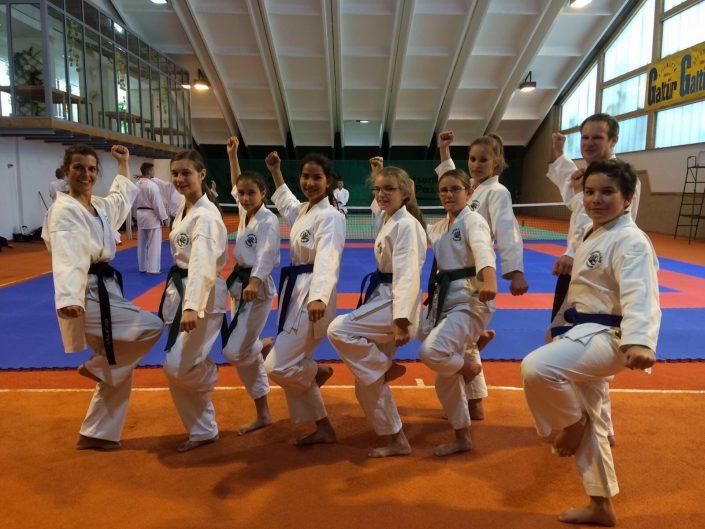 Shotokan Karate Club Feldkirch im Trainingslager