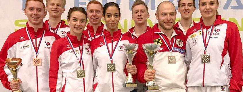 Starker Saisonsstart 2017 für Bettina Plank, Alper Deger und Vincent Forster bei den Slowenien Open in Lasko