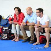 KARATE VORARLBERG BLZ Kumite Training Landesrätin Bernadette Mennel