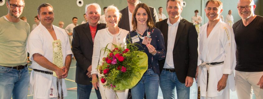 Betti Plank EKF Empfang 2017-0 Karate Vorarlberg