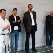 Betti Plank EKF Empfang 2017-12 Karate Vorarlberg