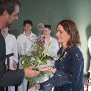 Betti Plank EKF Empfang 2017-5 Karate Vorarlberg