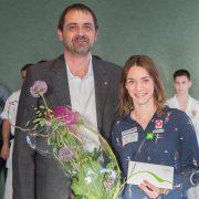 Betti Plank EKF Empfang 2017-6 Karate Vorarlberg