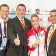 Bettina gewinnt EM Bronze 2017-9