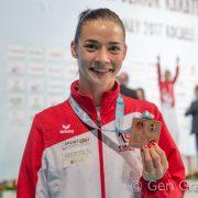 Bettina gewinnt EM Bronze 2017-11