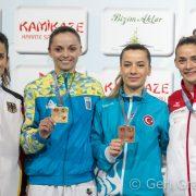Bettina gewinnt EM Bronze 2017-8