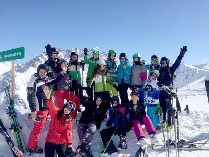 Skitag Gargellen 2017 KC Blumenegg