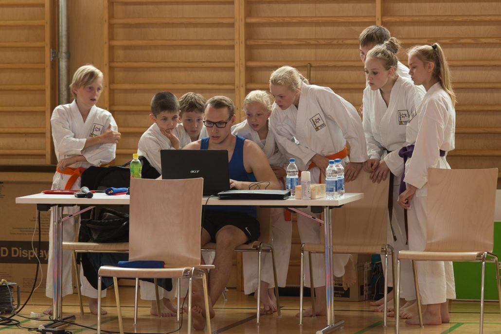 Vereinsmeisterschaft 2016 Raiffeisen Karateclub Rankweil