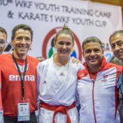 WKF World Youth Cup 2017 UMAG KARATE VORARLBERG Spitzensport ÖKB Team Karate Austria Ewald Roth Daniel Devigili Dragan Leiler Lora Ziller