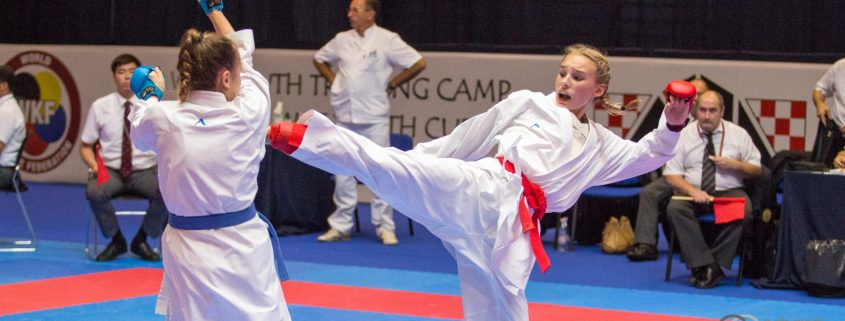 WKF World Youth Cup 2017 UMAG KARATE VORARLBERG Spitzensport ÖKB Hanna Devigili