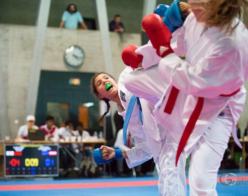 Basel Open Master 2017 Karate Vorarlberg Kumite Team Spitzensport Kristin Mathis