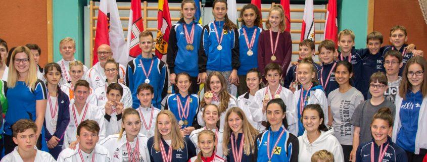 Österreichische Meisterschaft Karate Vorarlberg 2017 Spitzensport Karate Austria Patricia Bahledova Team Vorarlberg HOFSTEIG Götzis Blumenegg Feldkirch Lustenau Mäder Dornbirn Höchst