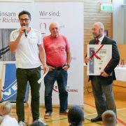 KARATE VORARLBERG Landesmeisterschaft 2017 Spitzensport Johannes Purtscher Gerhard Grafoner Peter Karg Bernadette Kleinfercher Ehrungen Ehrenzeichen