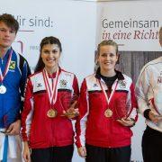 KARATE VORARLBERG Landesmeisterschaft 2017 Spitzensport Andre Gratzer Dilek Can Jessica Denifl Vincent Forster
