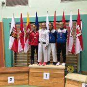Österreichische Meisterschaft Karate Vorarlberg 2017 Spitzensport Karate Austria Carmen Platisa