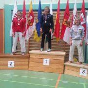 Österreichische Meisterschaft Karate Vorarlberg 2017 Spitzensport Karate Austria Kristin Mathis