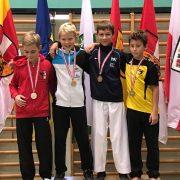 Österreichische Meisterschaft Karate Vorarlberg 2017 Spitzensport Karate Austria Dennis Dobringer
