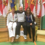 Österreichische Meisterschaft Karate Vorarlberg 2017 Spitzensport Karate Austria Adrian Nigsch Johannes Purtscher Sara Savic