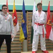 Österreichische Meisterschaft Karate Vorarlberg 2017 Spitzensport Karate Austria Mihael Dujic