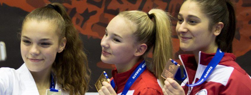 KARATE VORARLBERG Venice Youth Cup 2017 Spitzensport Hanna Devigili Marina Vukuvic Caorle