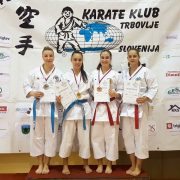 Trbovlje Karate Open 2017 KARATE VORARLBERG Spitzensport Patricia Bahledova Vincent Forster
