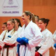 WILA 2018 Olympiazentrum Vorarlberg KARATE VORARLBERG KARATE AUSTRIA Kumite Spitzensport Alisa Buchinger