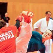 WILA 2018 Olympiazentrum Vorarlberg KARATE VORARLBERG KARATE AUSTRIA Kumite Spitzensport