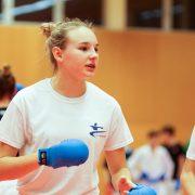 WILA 2018 Olympiazentrum Vorarlberg KARATE VORARLBERG KARATE AUSTRIA Kumite Spitzensport Hanna Devigili