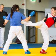 Karate Innovation Days 2018 Karate Vorarlberg Karate Austria Gerhard Grafoner Christian Grüner Kumite Kata Olympiazentrum Vorarlberg Sara Cardin Bettina Plank