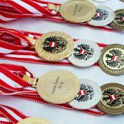 Österreichische Staatsmeisterschaft 2018 KARATE VORARLBERG Kumite Kata Medaillen