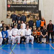 Swiss Junioren Open 2018 Kata Kumite Sieger KARATE VORARLBERG