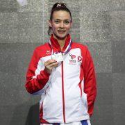 EKF Karate EM 2018 Novi Sad Silbermedaille Vize-Europameisterin Bettina Plank Karate Vorarlberg Kumite