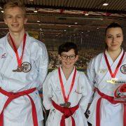 Euro Cup 2018 Karate Vorarlberg Kata Vincent Forster David Nussbaumer Patricia Bahledova