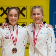 Austrian Junioren Open 2018 Karate Vorarlberg Stella Kleinekathöfer Vanessa Giesinger