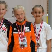 Austrian Junioren Open 2018 KARATE VORARLBERG Kata Kumite Sara Skrijelj Valerie Berchtold