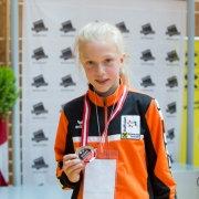 Austrian Junioren Open 2018 KARATE VORARLBERG Kata Kumite Valerie Berchtold