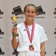 Austrian Junioren Open 2018 KARATE VORARLBERG Kata Kumite Sara Skrijelj