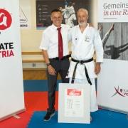 KARATE VORARLBERG Kyu Dan Prüfung 2018 Günter Marte Willi Mathis