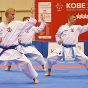 FISU World University Karate Championships 2018 Kobe Japan KARATE VORARLBERG Team KARATE AUSTRIA Vincent Forster Christoph Buchinger Lukas Buchinger