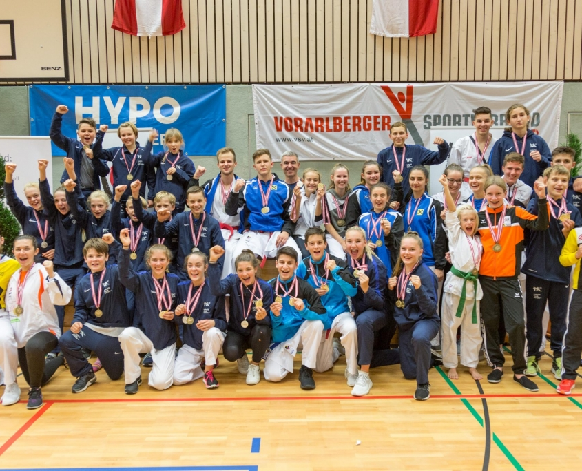 KARATE VORARLBERG Österreichische Nachwuchsmeisterschaften 2018 Team Vorarlberg Kata Kumite
