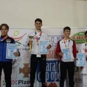 Euro Grand Prix Pilsen 2018 Hamsat Israilov KARATE VORARLBERG
