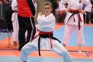 ESKA Shotokan Europameisterschaft 2018 Nis Kata Jacqueline Berger KARATE VORARLBERG