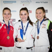 AUSTRIAN KARATE CHAMPIONSCUP 2019 Hard KARATE VORARLBERG Anna Hirt Marijana Maksimovic Julia Reiter