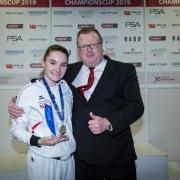 AUSTRIAN KARATE CHAMPIONSCUP 2019 Hard KARATE VORARLBERG Marijana Maksimovic Christian Reiter