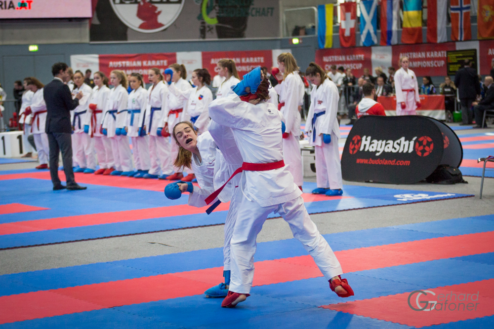 AUSTRIAN KARATE CHAMPIONSCUP 2019 Hard KARATE VORARLBERG Vanessa Giesinger